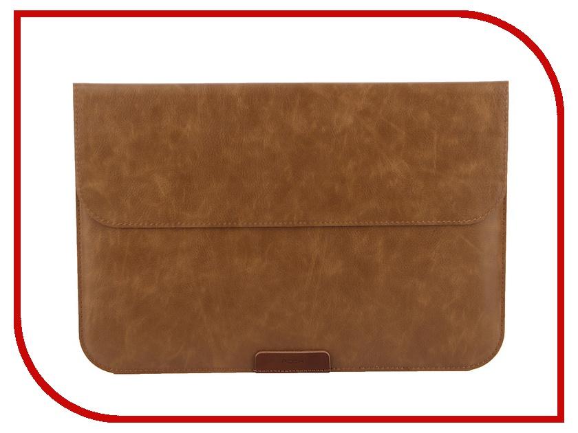 Аксессуар Чехол 12-inch ROCK Protection Sleeve Case для APPLE MacBook Retina 12 Brown<br>
