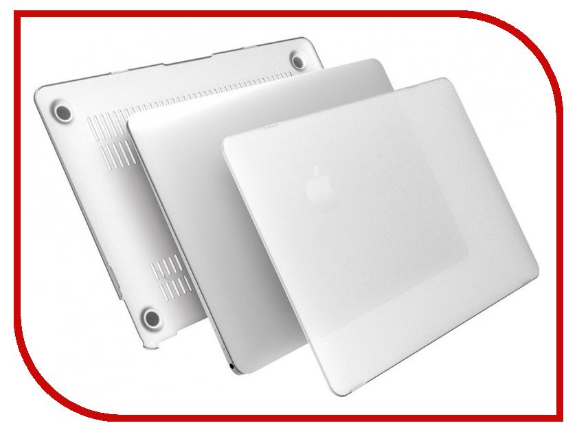 Аксессуар Чехол ROCK Ultrathin Protection Case Накладка для APPLE MacBook Retina 12 90761 Transparent<br>