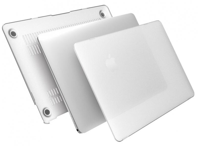 Аксессуар ROCK Ultrathin Protection Case Накладка для APPLE MacBook Retina 12 90761 Transparent
