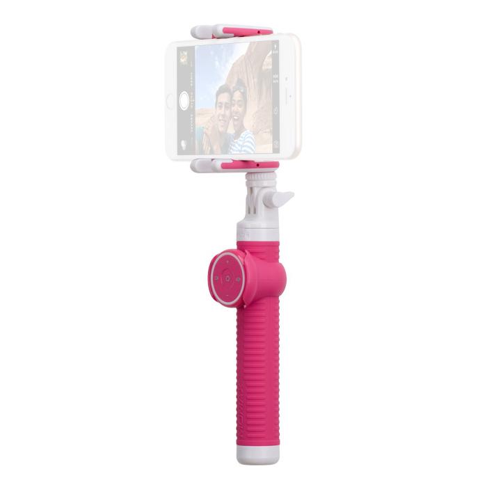 Штатив MOMAX Selfie Hero Selfie Pod 50cm KMS5 Pink<br>