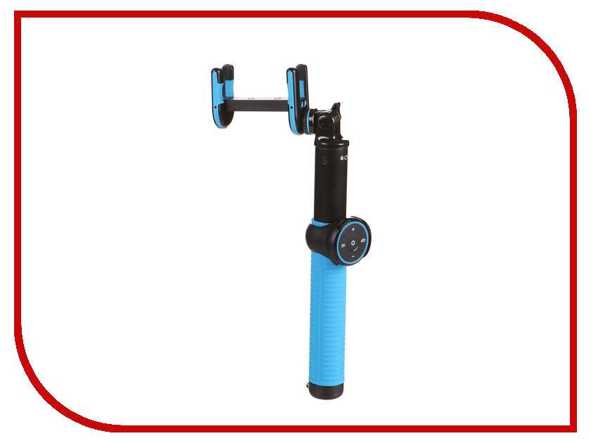 Штатив MOMAX Selfie Hero Selfie Pod 100cm KMS7 Black-Blue momax selfie stick bluetooth self timer camera shutter set