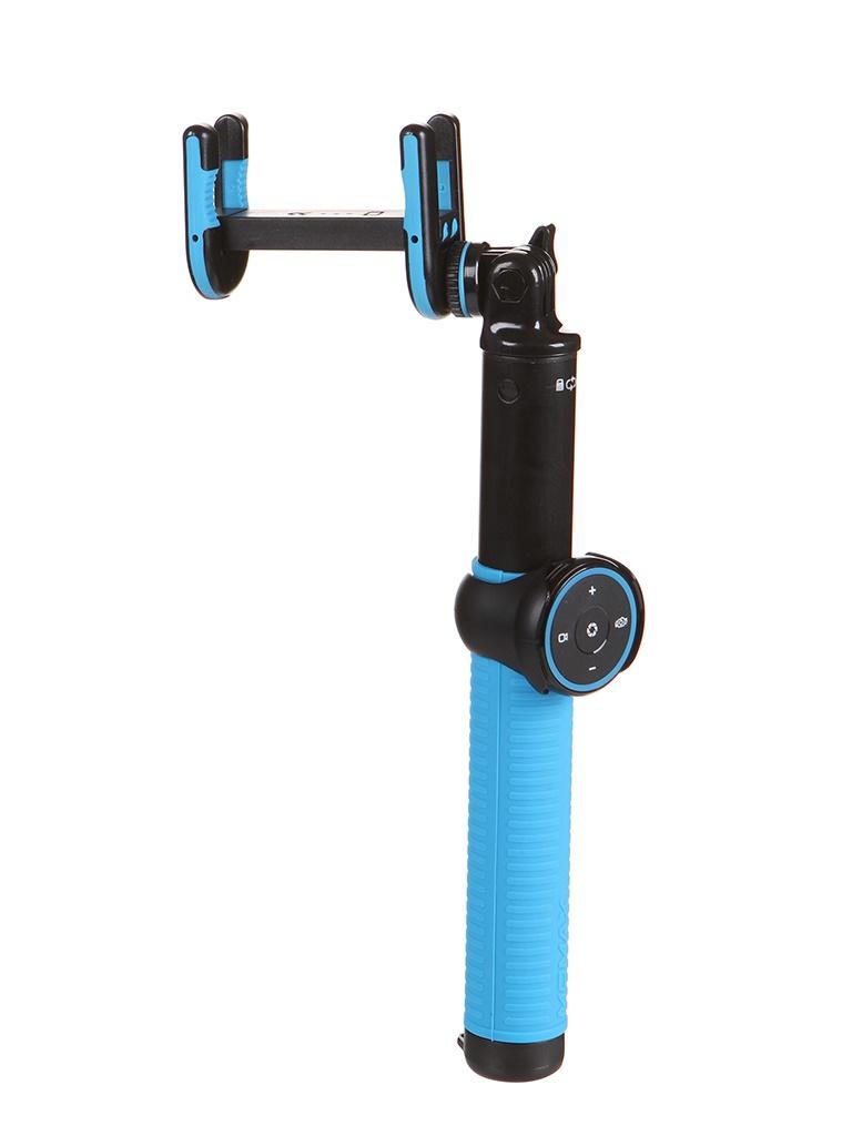 Монопод Momax Selfie Hero Pod 100cm KMS7 Black-Blue