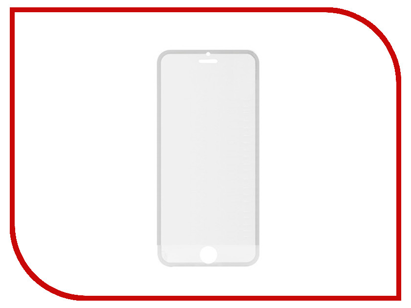 Аксессуар Защитное стекло Litu Edge 0.26mm для iPhone 6 Plus / 6S Plus переднее + заднее Black<br>