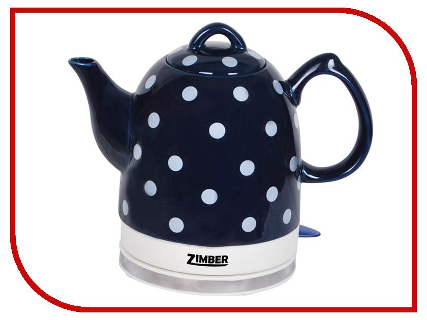 Чайник Zimber ZM-10752 Blue чайник zimber zm 10988