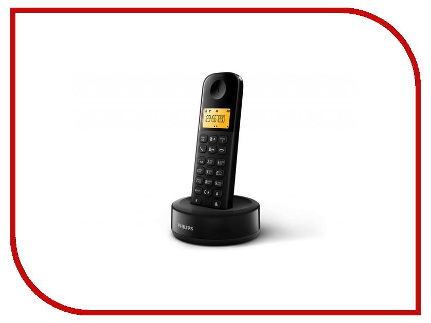Zakazat.ru: Радиотелефон Philips D 1301B/51 Black