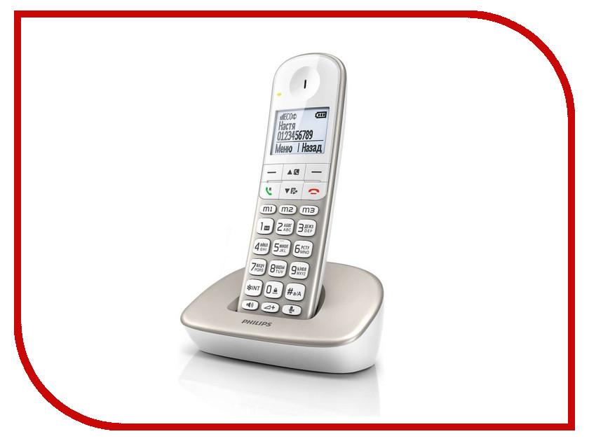 Радиотелефон Philips XL 4901 Silver