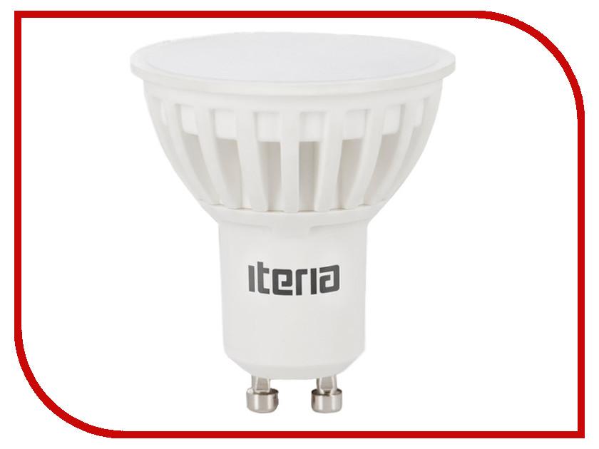 Лампочка Iteria MR16 5.5W 4100K GU10 801008 лампочка iteria шар 6w 4100k e27 матовый 803008