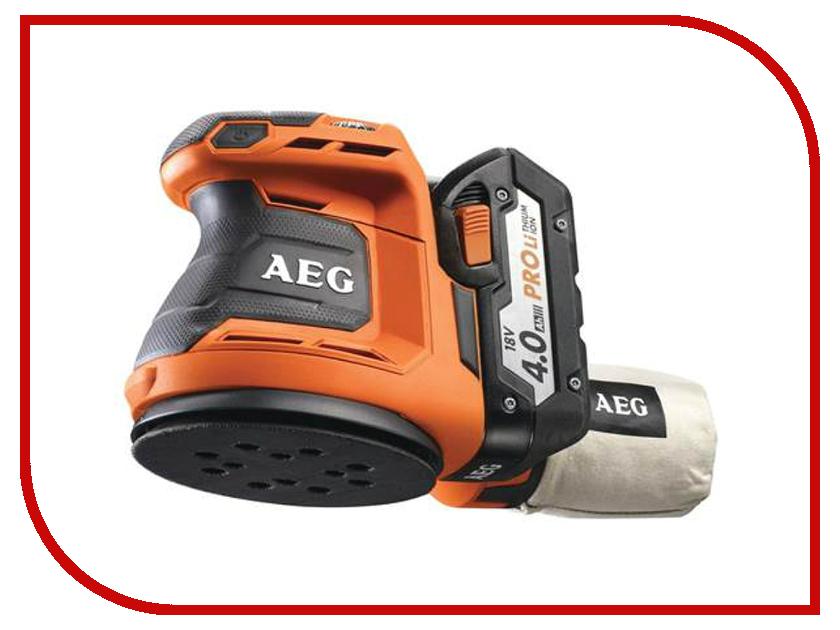 Шлифовальная машина AEG BEX 18-125-0<br>