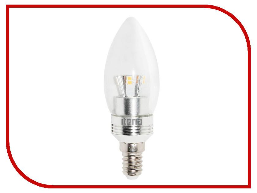 Лампочка Iteria Свеча хрустальная 6W 2700K E14 804003<br>