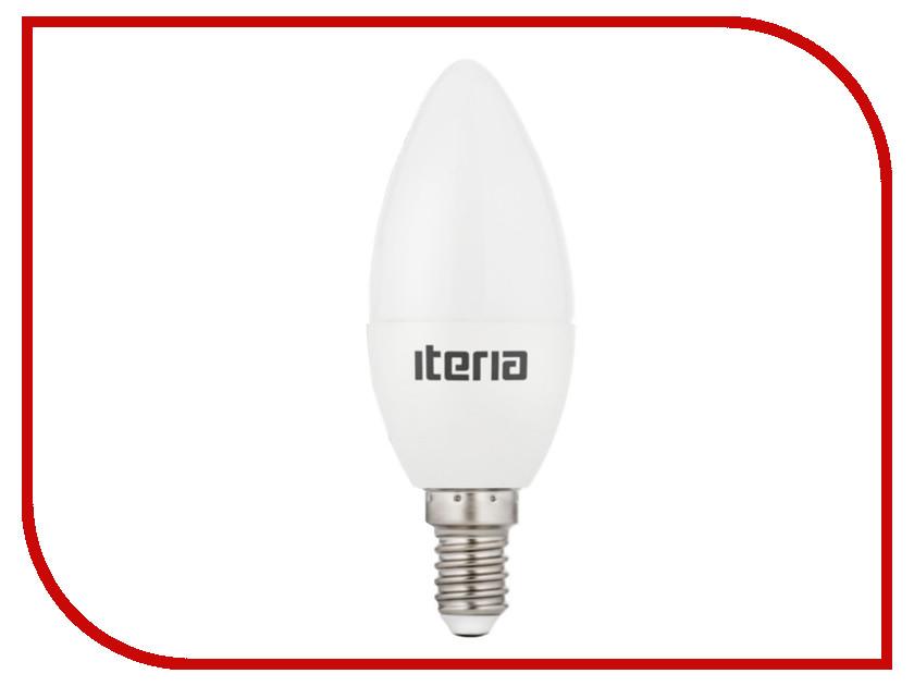 Лампочка Iteria Свеча 6W 4100K Е14 матовая 802006<br>