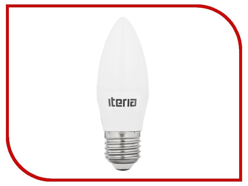Лампочка Iteria Свеча 6W 2700K Е27 матовая 802007<br>