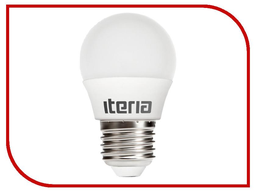 Лампочка Iteria Шар 6W 4100K E27 матовый 803008<br>