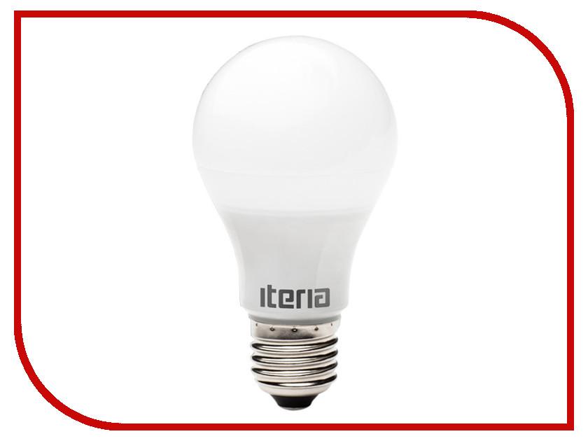 Лампочка Iteria ЛОН 9W 4100К E27 матовый LB09W41KE27-0