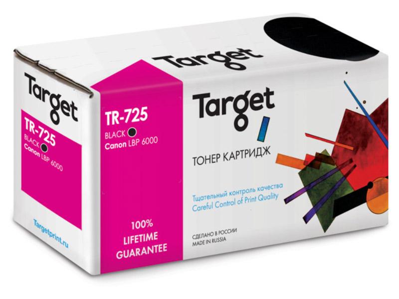 Картридж Target TR-725 / CRG-725 для Canon LBP 6000/6000B/HP LJ P1102/P1102W<br>