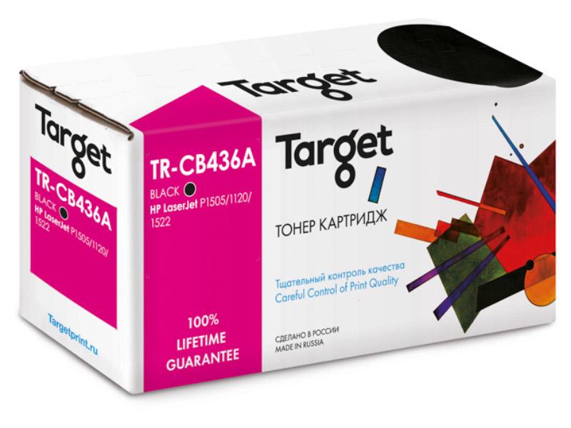 Картридж Target TR-36A / CB436A для HP LJ P1505/M1120mfp/M1522mfp
