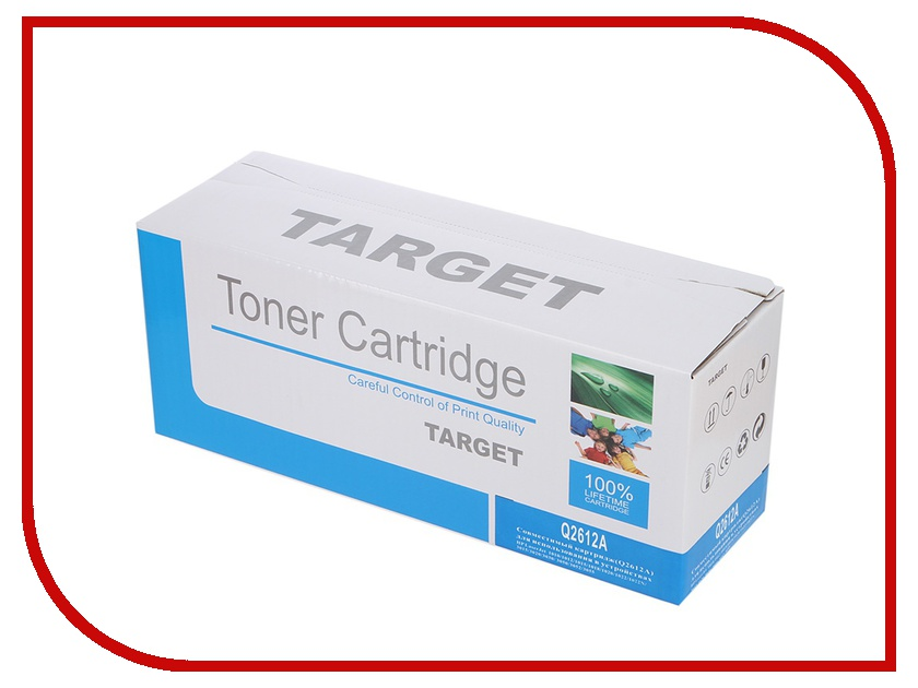 Картридж Target TR-12A / Q2612A для HP LJ 1010/1012/1015/1020/1022/3015/3020/3030 2pcs alzenit oem new for hp 1010 1012 1015 1020 3015 3020 3030 charge roller q2612a printer parts