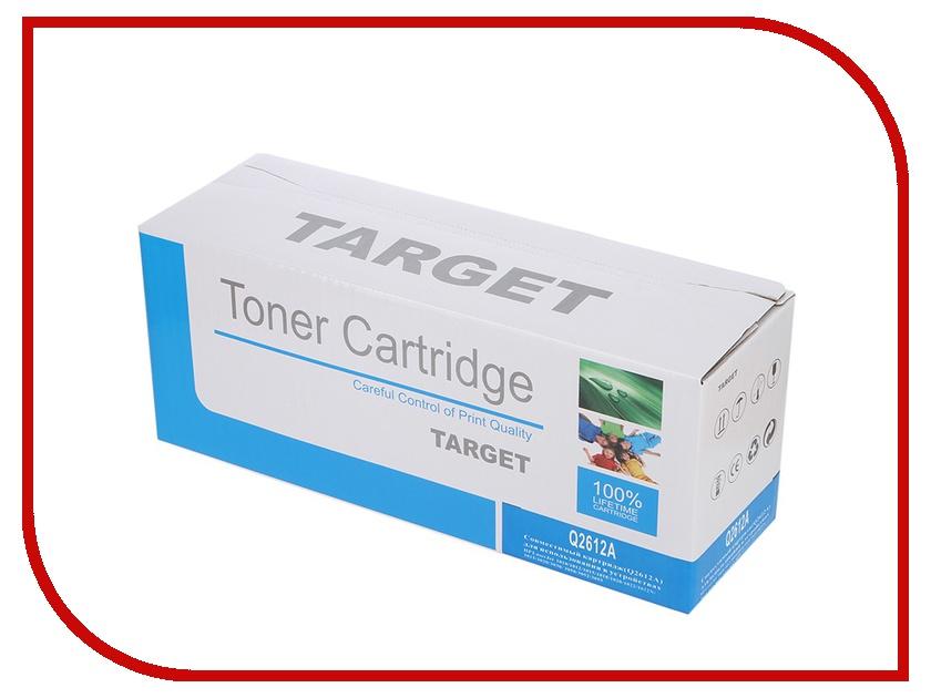 Картридж Target TR-12A / Q2612A для HP LJ 1010/1012/1015/1020/1022/3015/3020/3030 картридж colouring cg q2612a 703 для hp lj 1010 1012 1015 3015 3020 3030 1020 1022 3050 3052 3055 m1005 m1005mfp m1319 m1319mfp series canon lbp 2900 2000стр