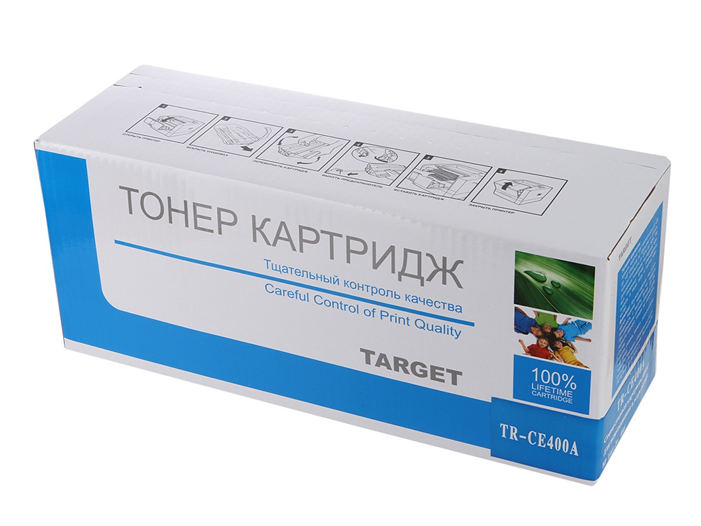 Аксессуар Target TR-CE400A для HP CLJ Color M551/M551n/M551dn/M551xh Black