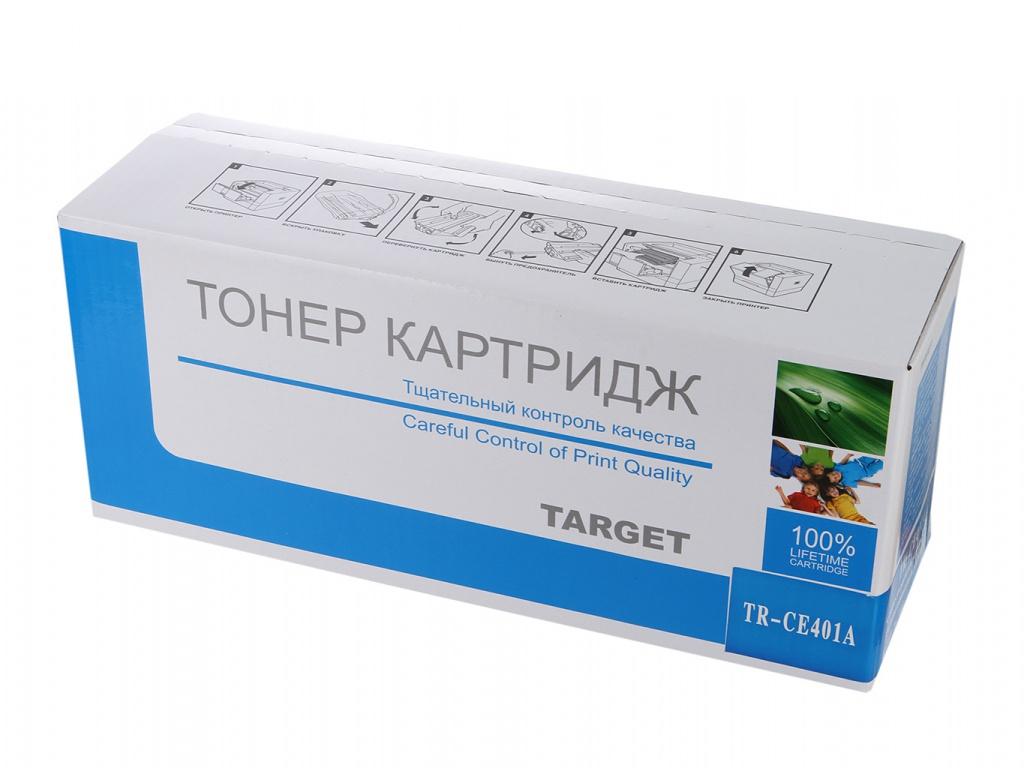 Аксессуар Target TR-CE401A для HP CLJ Color M551/M551n/M551dn/M551xh Cyan