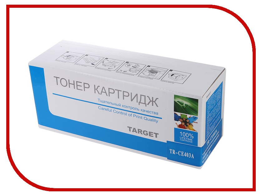 Картридж Target TR-CE403A для HP CLJ Color M551 / M551n / M551dn / M551xh Magenta