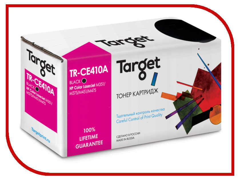 Картридж Target TR-CE410A для HP CLJ Color M351/M451/MFP M375/MFP M475 Black