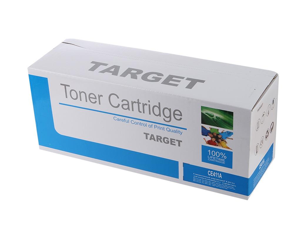 Аксессуар Target TR-CE411A для HP CLJ Color M351/M451/MFP M375/MFP M475 Cyan