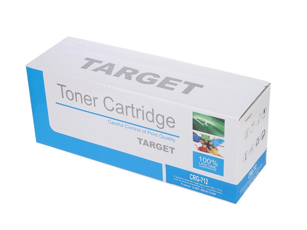 Картридж Target TR-712 / CRG-712 для Canon i-SENSYS LBP 3010/3100/HP LJ P1005