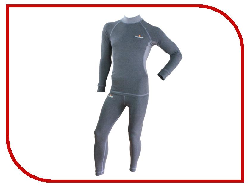Термобелье WoodLand Soft Thermo Plus XXL Grey термобелье woodland soft thermo s dark grey 0057728