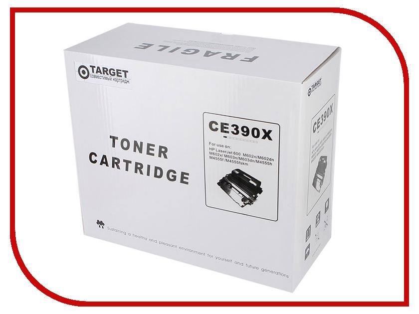 Картридж Target TR-90X / CE390X для HP LJ M4555