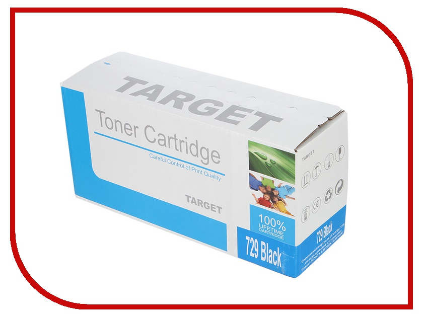 Картридж Target TR-729BK / CRG-729K для Canon i-SENSYS LBP-7010 Color Black от Pleer