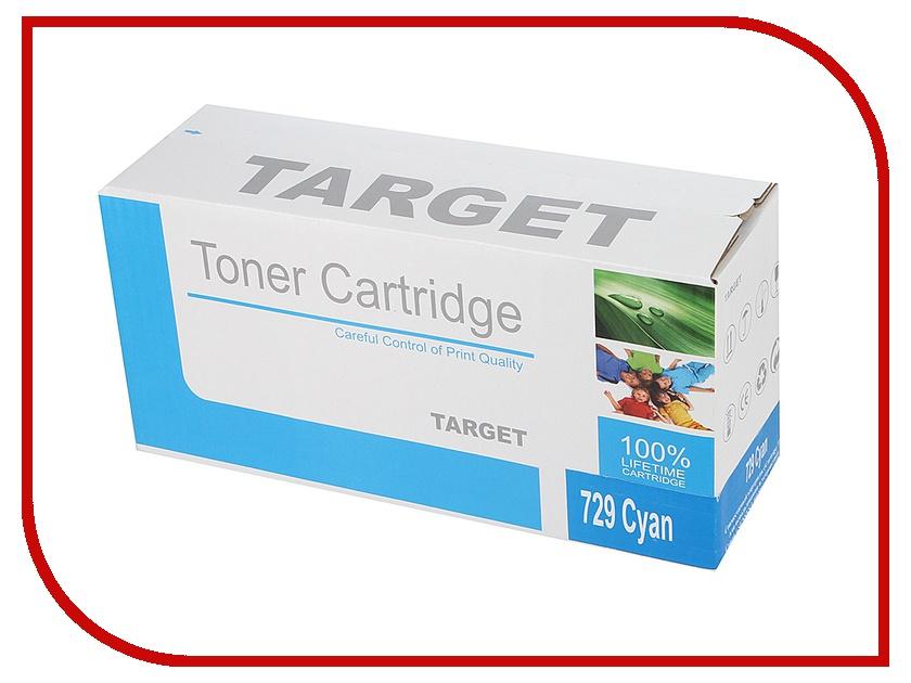 Картридж Target TR-729C / CRG-729C для Canon i-SENSYS LBP-7010 Color Cyan<br>