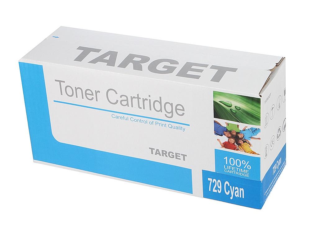 Картридж Target TR-729C / CRG-729C для Canon i-SENSYS LBP-7010 Color Cyan от Pleer