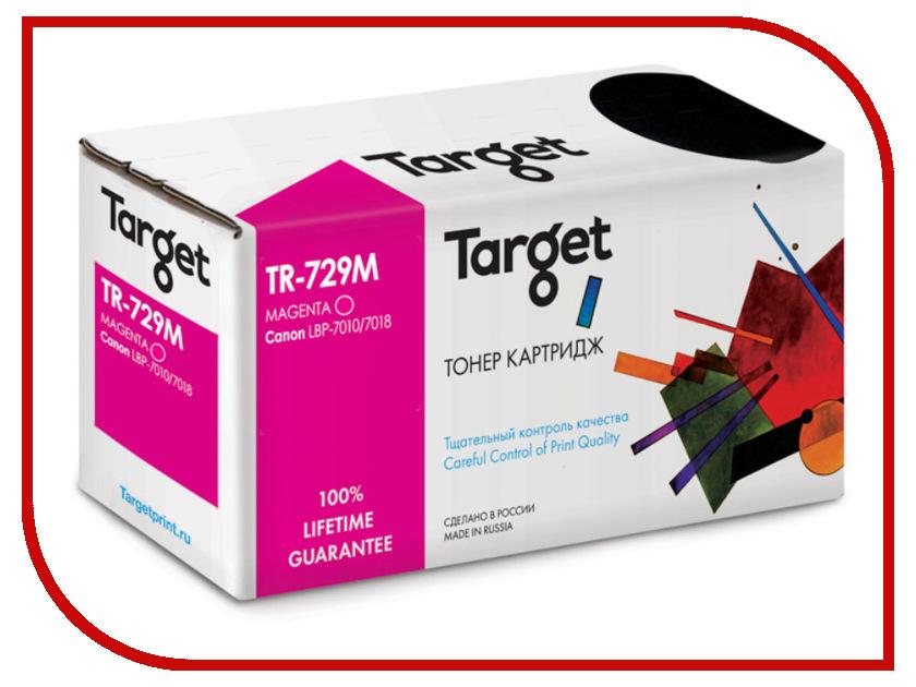 Картридж Target TR-729M / CRG-729M для Canon i-SENSYS LBP-7010 Color Magenta canon 729m 4368b002