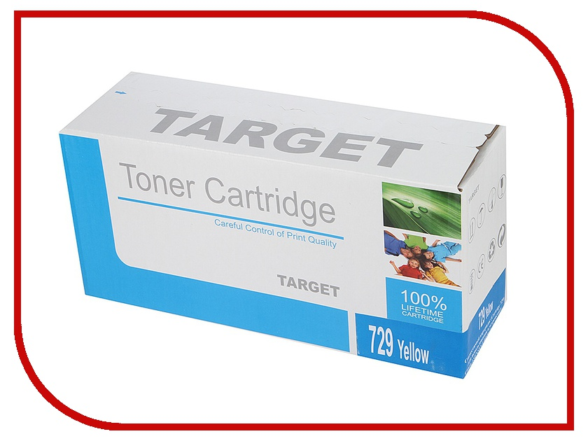 Картридж Target TR-729Y / CRG-729Y для Canon i-SENSYS LBP-7010 Color Yellow<br>
