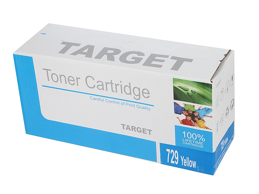 Аксессуар Target TR-729Y / CRG-729Y для Canon i-SENSYS LBP-7010 Color Yellow