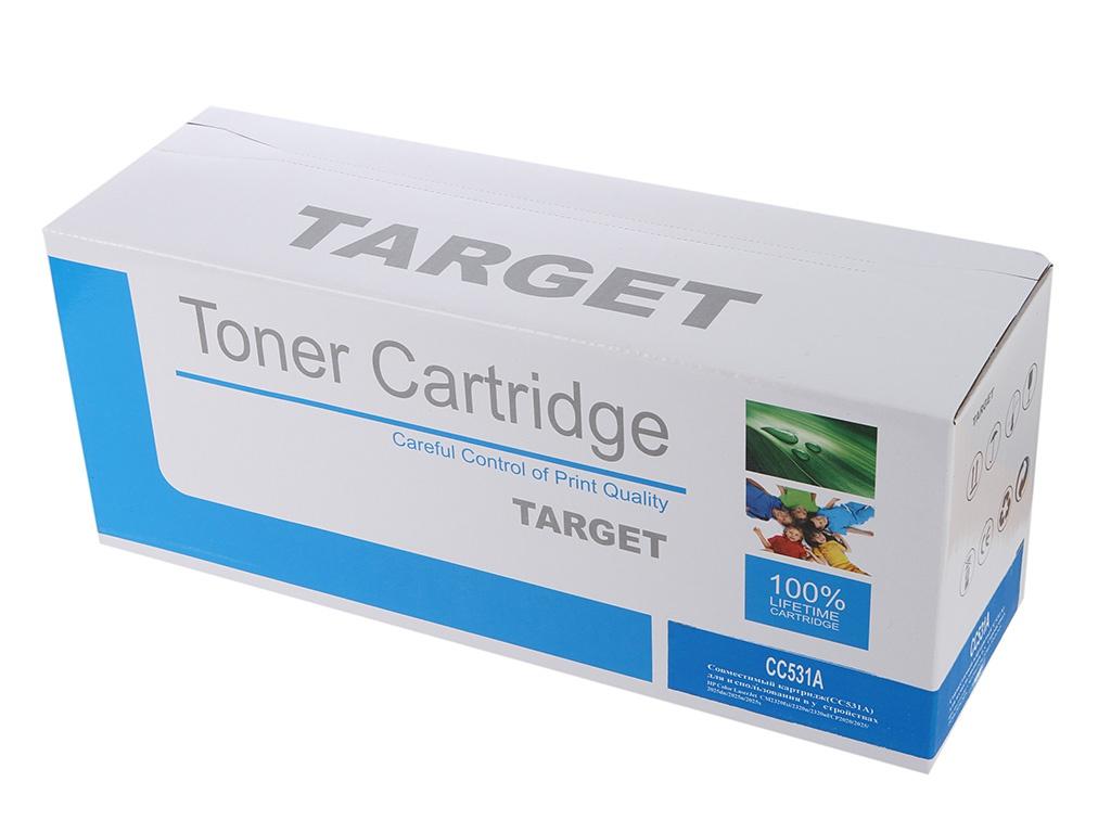 Аксессуар Target TR-CC531A для HP Color LJ CM2320MFP/CP2025 Cyan