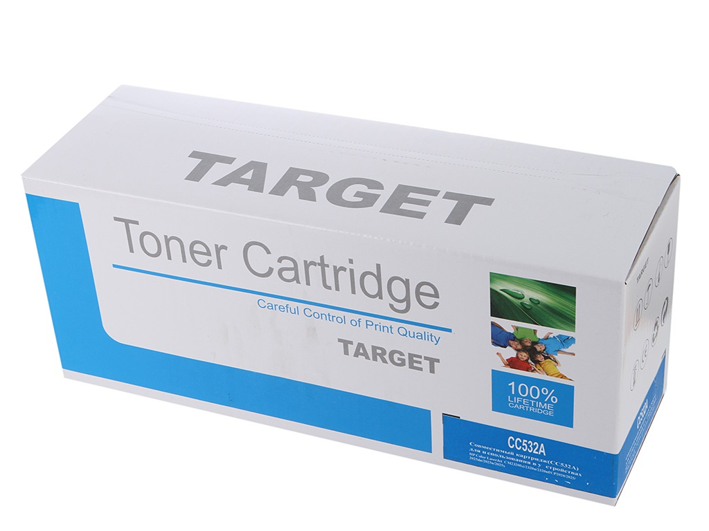 Аксессуар Target TR-CC532A для HP Color LJ CM2320MFP/CP2025 Yellow