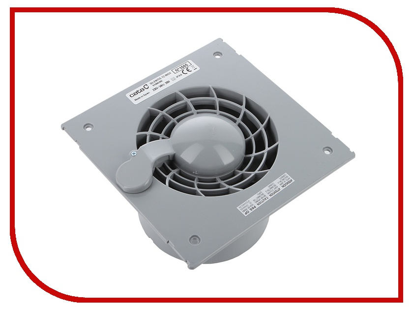 Вытяжной вентилятор Cata Silentis 12 Inox S Steel<br>