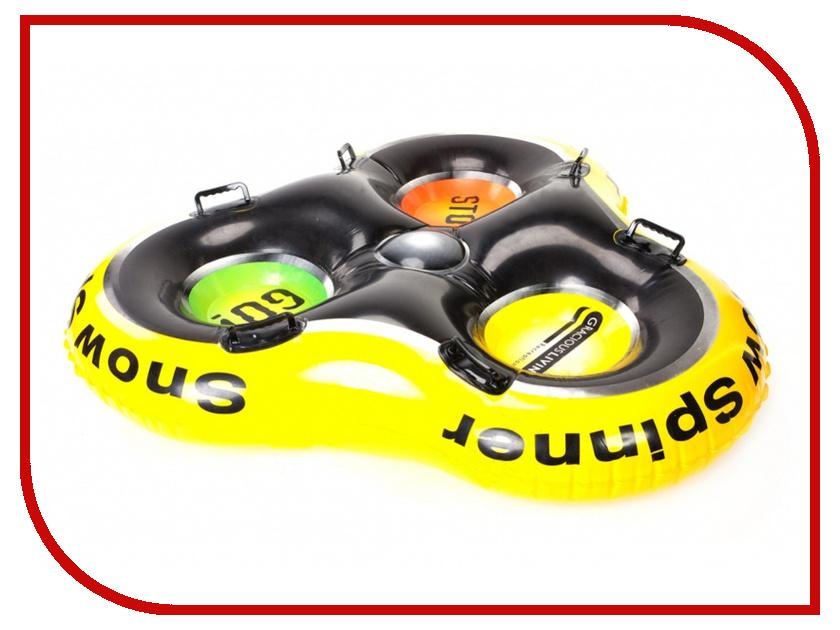 Тюбинг Bradex SF 0098 трехместный эспандер bradex спорт актив sf 0147
