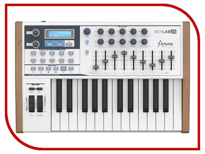 Midi-клавиатура Arturia KeyLab 25<br>