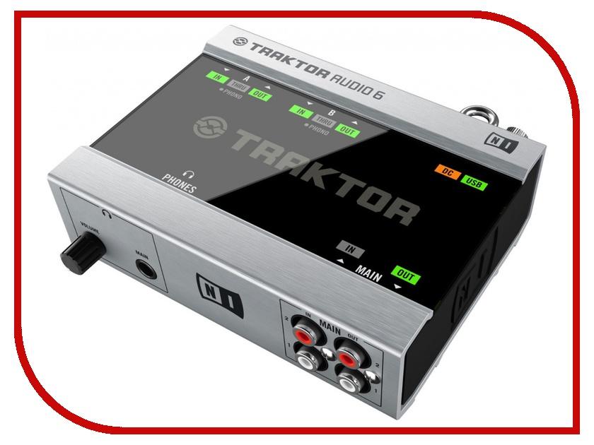 Аудиоинтерфейс Native Instruments Traktor Scratch A6 самсунг галакси a6