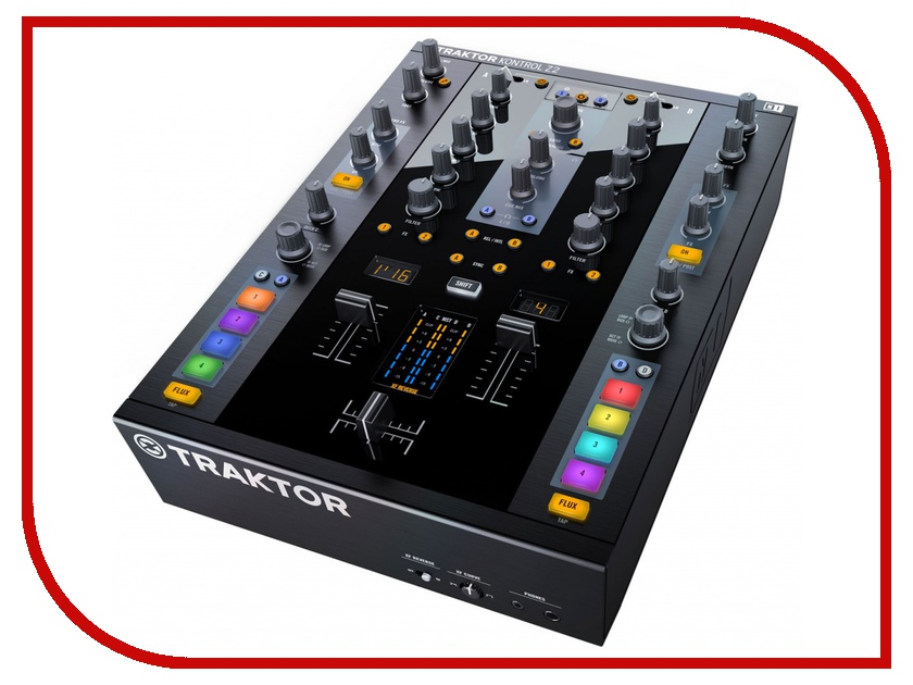 Пульт Native Instruments Traktor Kontrol Z2