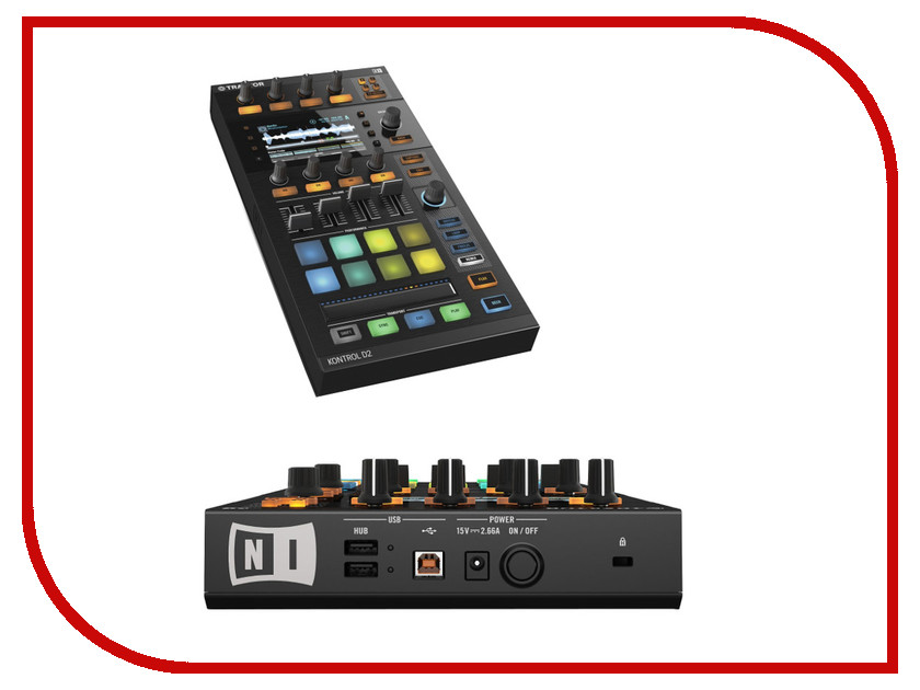 MIDI-контроллер Native Instruments Traktor Kontrol D2 стоимость