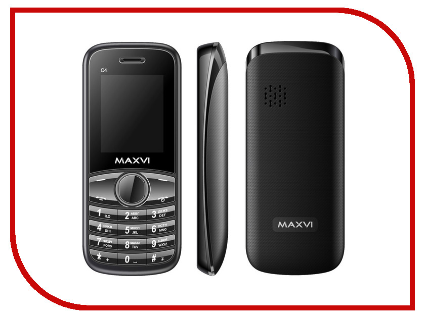 ������� ������� Maxvi C4 Black<br>