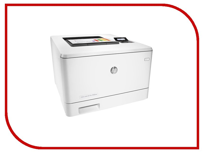 Принтер HP Color LaserJet Pro M452nw hewlett packard hp color laserjet pro mfp m277n цветной лазерный мфу