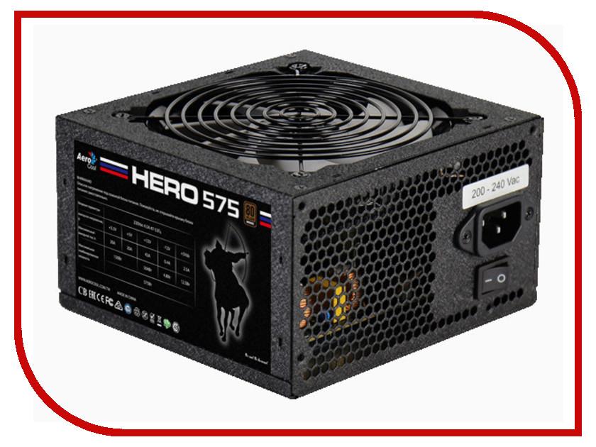 Блок питания AeroCool Hero 575 80+ ATX 575W Bronze intervyu s generalom petrovskim
