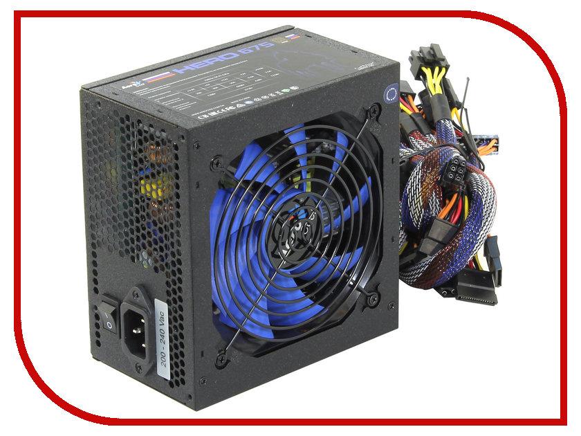 где купить Блок питания AeroCool Hero 675 80+ ATX 650W (675W Max) Bronze дешево