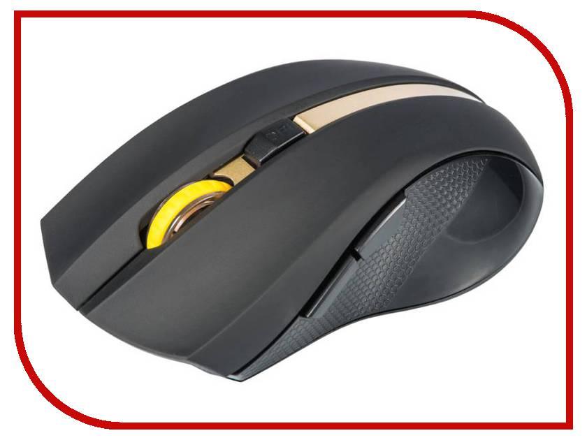 Мышь Oklick 495MW USB Black-Gold
