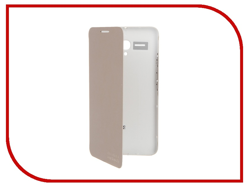 Аксессуар Чехол Alcatel OneTouch 5025 POP 3 FC5025 Soft Gold сотовый телефон alcatel onetouch 5070d pop star soft slate silver gold