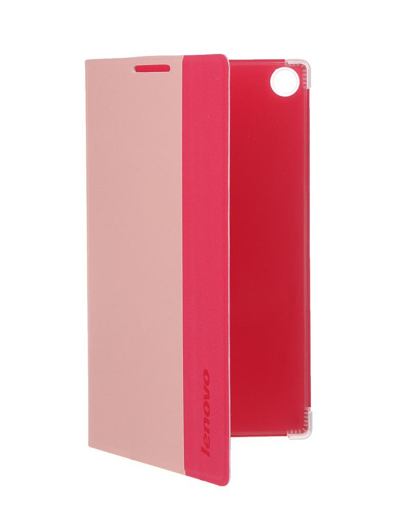Аксессуар Чехол Lenovo A7-30 Folio Case and Film Pink-WW ZG38C00033<br>